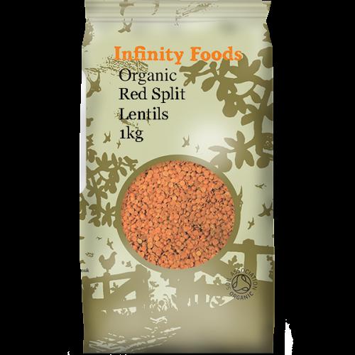 Red Split Lentils 1kg