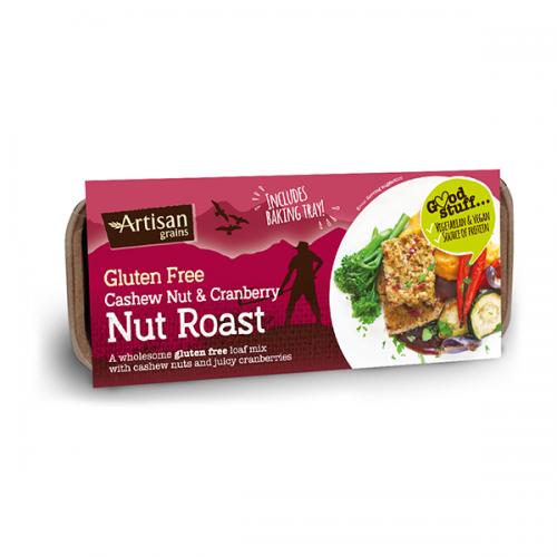 Cashew & Cranberry Nut Roast - gluten-free 200g
