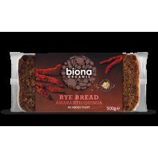 Rye Amaranth & Quinoa Bread 500g