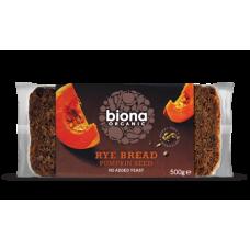 Rye & Pumpkin Seed Bread 500g
