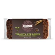 Vitality Rye Bread - sprouted seeds 500g