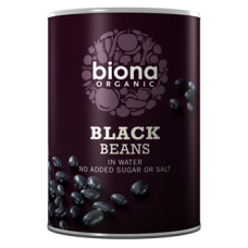 Black Beans in tins 400g
