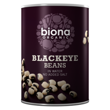 Blackeye Beans in tins 400g
