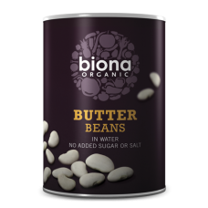 Butter Beans in tins 400g