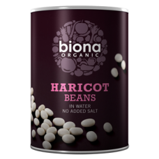 Haricot Beans in tins 400g