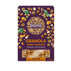 Honey & Hazel Crunch Granola 375g