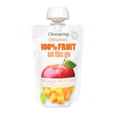 On-the-go Apple & Mango Puree - single pouch 120g