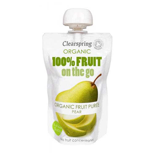 On-the-go Pear Puree - single pouch 120g