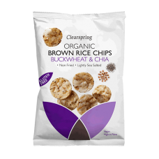 Brown Rice Chips - Buckwheat & Chia 60g