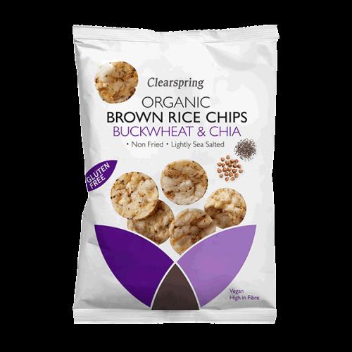 Brown Rice Chips - Buckwheat & Chia 60g