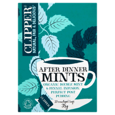 After Dinner Mints - mint & fennel etc 20bgs
