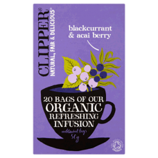 Blackcurrant & Acai Berry Infusion 20bgs