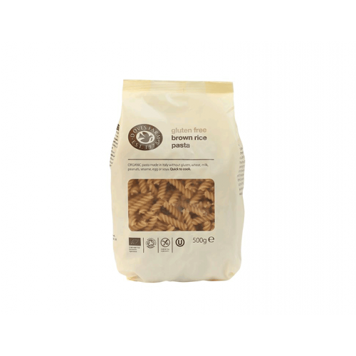 Brown Rice Fusilli - GF 500g