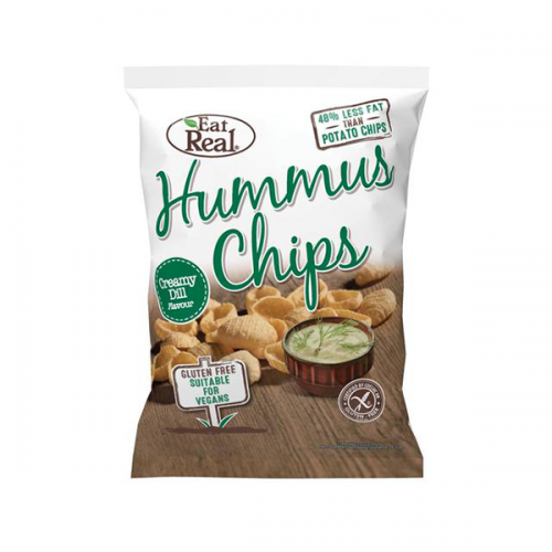 Creamy Dill Hummus Chips - large 135g