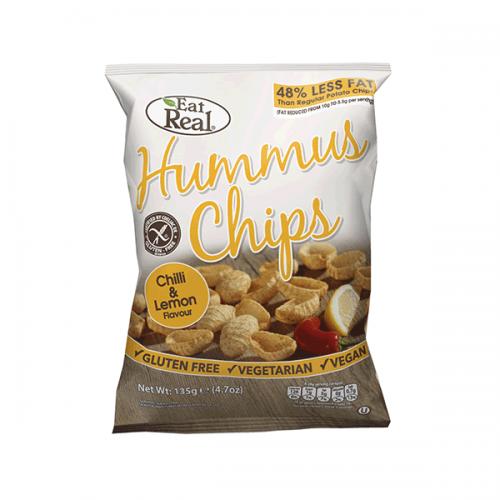 Chilli & Lemon Hummus Chips 45g
