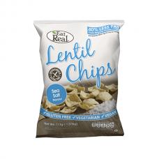 Sea Salt Lentil Chips 40g