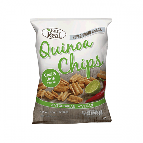 Chilli & Lime Quinoa Chips 80g