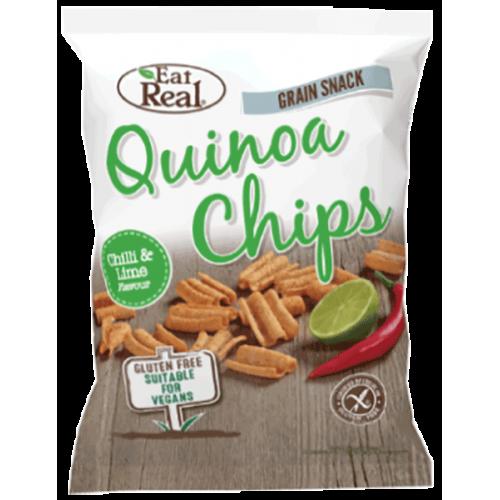 Chilli & Lime Quinoa Chips - small 30g