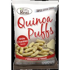Quinoa Puff White Cheddar 113g