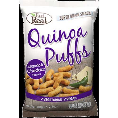 Quinoa Puff White Cheddar & Jalapeno 113g