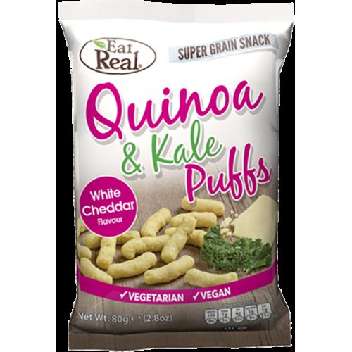 Quinoa & Kale Puff White Cheddar 113g