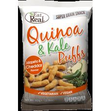 Quinoa & Kale Puff White Cheddar & Jalapeno 113g