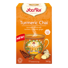 Turmeric Chai Yogi Tea 17bgs