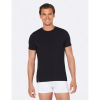 Crew Neck T-Shirt Mens Black M