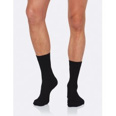 Mens Business Socks Black 6-11