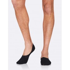Mens Hidden Socks Black 6-11