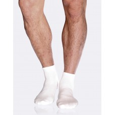 Mens Sport Ankle Sock White 6-11