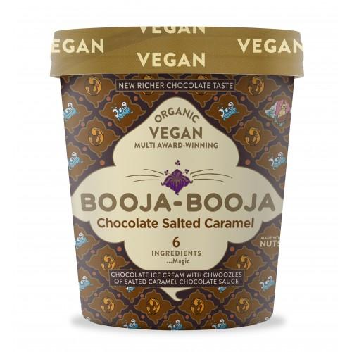 Chocolate salted caramel booja booja